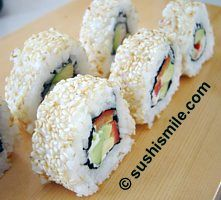 California Roll mit Paprika